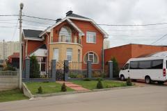 Жилой дом в Нижнем Новгороде. Поставленная продукция - газосиликатные блоки, цветной силикатный кирпич.
