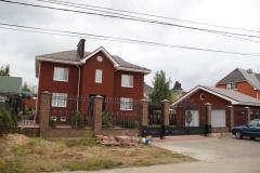Жилой дом в Нижнем Новгороде. Поставленная продукция - кирпич цветной облицовочный керамический