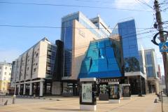Торгово - офисный центр Лобачевский Плаза. Поставленная продукция - газосиликатные блоки, силикатный кирпич белый пустотелый и полнотелый.