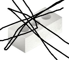 Кирпич силикатный белый пустотелый